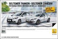 SElTENER TANkEN - SElTENER zAhlEN! - bei Renault Liesing!