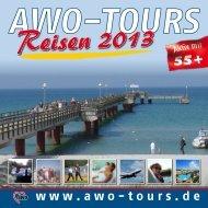 Laden Sie sich hier den AWO-TOURS Katalog