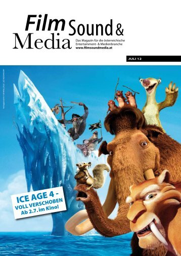 ICE AGE 4 - - Film, Sound & Media