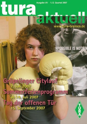 Gröpelinger Citylauf Sommerferienprogramm ... - TURA Bremen eV
