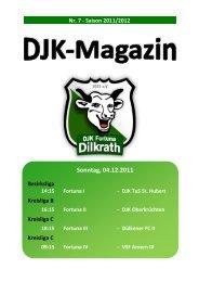 Tabelle Kreisliga C 2011/2012 Heutiger Spieltag - Fortuna Dilkrath