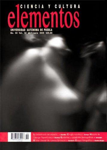 Número completo (5.08 Mb) - Revista Elementos