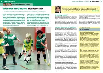 Werder Bremens Ballschule - Ballschule Nord