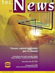Focus: valore aggiunto per il cliente - Harting