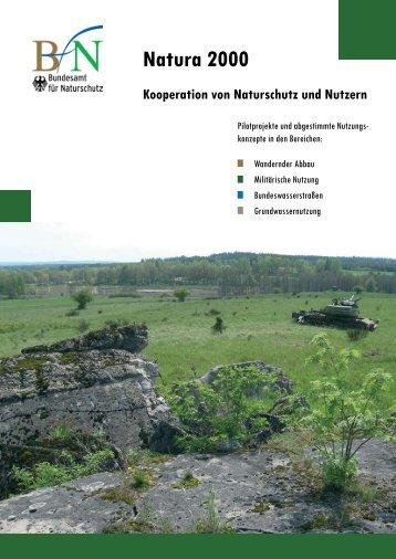 Natura 2000 - Kooperation von Naturschutz und Nutzern, pdf