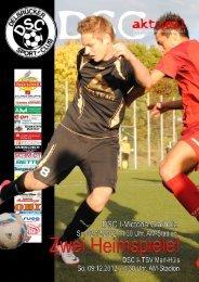 DSC Aktuell Nr.: 0155 / Ausgabe: 02.12.2012 - Delbrücker SC