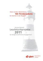 Broschüre Leuchtturmprojekte 2011 (PDF, 1,5 MB) - E.ON Westfalen ...