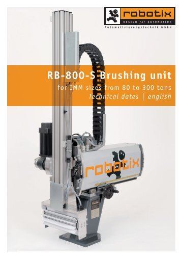 RB-800-S Brushing unit - Robotix