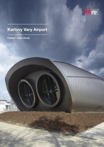 Karlovy Vary Airport - Kalzip