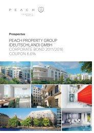 Peach Property Group (Deutschland) GmbH - Investor Relations ...