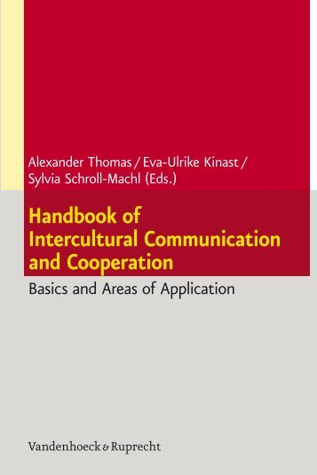 Handbook of Intercultural Communication and ... - E-cademic