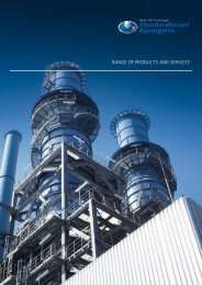 Range of Products and Services - Standardkessel Baumgarte