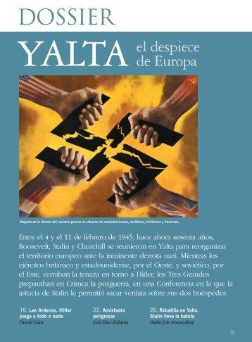Yalta. El despiece de Europa