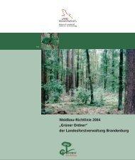 Grüner Ordner - Waldwirtschaft - aber natürlich