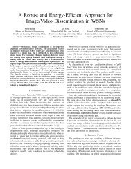 A Robust and Energy-Efficient Approach for Image ... - Pei Huang