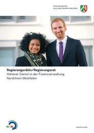 Regierungsrätin/Regierungsrat - Finanzministerium NRW