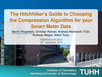 The Hitchhiker's Guide to Choosing the Compression Algorithm for ...