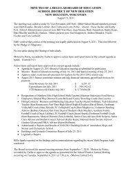 8/15/2011 Board Minutes - New Holstein School District