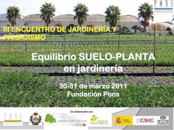 Sustrato de cultivo - Fundación Pons