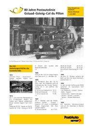 80 Jahre Postautolinie Gstaad–Gsteig–Col du Pillon - Berner ...