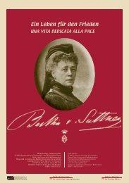 """Bertha von Suttner – """"Ein Leben für den Frieden - und ..."""