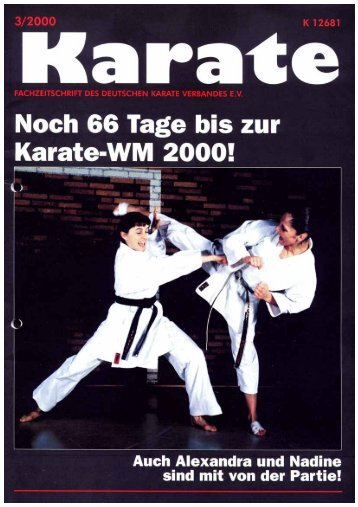 DKV-Magazin Nr. 3 - Chronik des Karate