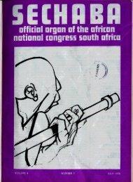 Sechaba Volume 4 Number 7 July 1970 - DISA