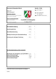 Geschäftsverteilungsplan 3. Januar 2013  - Finanzamt Düsseldorf-Nord