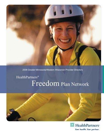 Freedom Plan Network - HealthPartners