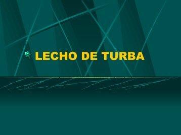LECHO DE TURBA