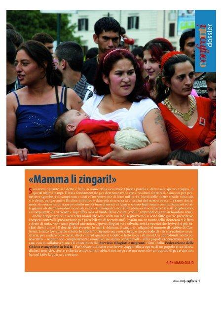Incontri zingari Romany