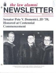 Spring/Summer 1993 - Sturm College of Law - University of Denver