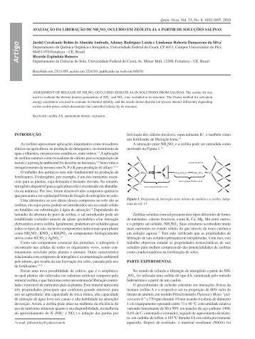 Artigo quimica