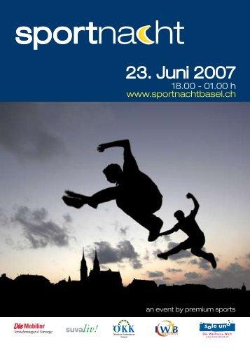 23. Juni 2007 - Sportnacht Basel