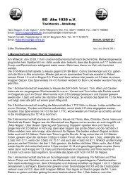 TT-Bericht Nr.24 - SG Ahe