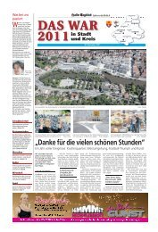 Verstorbene im Jahr 2011 - Haller Tagblatt