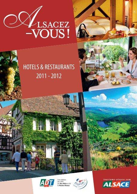 Hôtels et restaurants - Tourisme Alsace