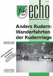 TVK-Echo 2/06 - Turnverein 1877 eV Essen-Kupferdreh