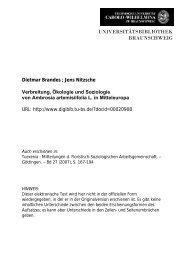 Verbreitung, Ökologie und Soziologie von Ambrosia artemisiifolia L ...