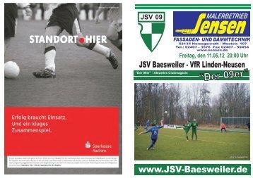 """""""Der 09er"""" - JSV Baesweiler 09"""