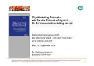 Vortrag Haensch CIMA City-Marketing Fahrrad1