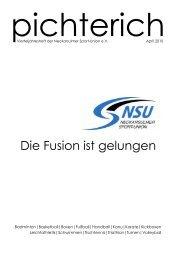 pichterich-Magazin April 2010 - Neckarsulmer Sport-Union eV