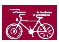 Förderung und Finanzierung des Fahrradverkehrs
