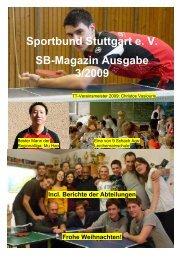 Sportbund Stuttgart e - DJK Sportbund Stuttgart