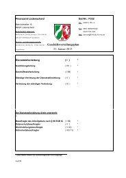 Geschäftsverteilungsplan 7. Januar 2013 - Finanzamt Lüdenscheid