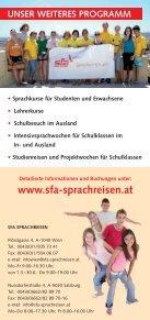 BIENVENUE! BENVENUTI! BIENVENIDO! - SFA Sprachreisen - Page 6