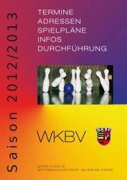 Saison 2012/2013 - WKBV