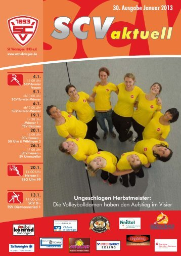 SCV aktuell 2012 12 Gesamt.cdr - Sport Club Vöhringen 1893 e. V.