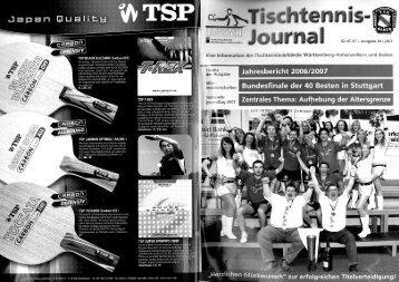 TTVWH-Jahresbericht 2006/2007