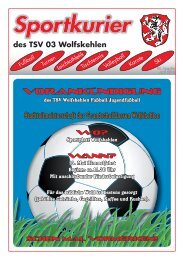 Ausgabe 1/2010 herunterladen - TSV 03 Wolfskehlen
